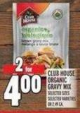 Club House Organic Gravy Mix