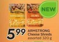 Armstrong Cheese Shreds