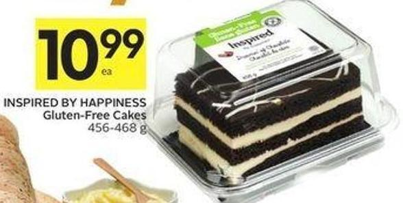 Inspired By Happiness Gluten-free Cakes 456-468 g