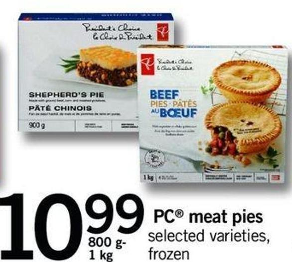 PC Meat Pies - 800 G- 1 Kg