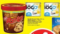 Nestlé Dessert Tubs 400 mL Iögo Yogurt 4 X 100 g Selected Varieties