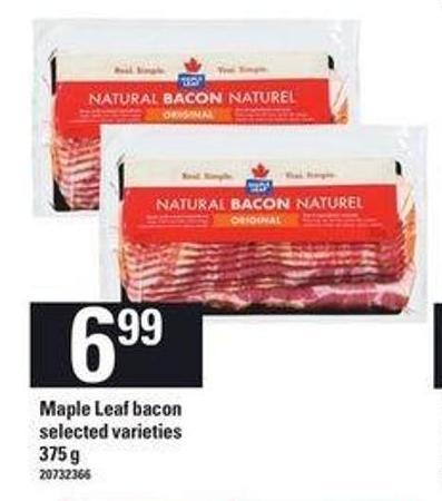 Maple Leaf Bacon 375 g