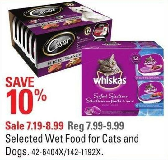 Cesar Selected Wet Food For Cats and Dogs