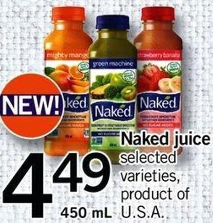 Naked Juice - 450 Ml