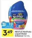 Nestlé Nesfruta Liquid Water Enhancer - 10 Air Miles Bonus Miles