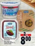 Sardo Olives 250 G Or Selection Feta Cheese 200 G