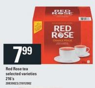 Red Rose Tea - 216's