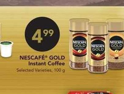 Nescafe Gold Instant Coffee - 100 g