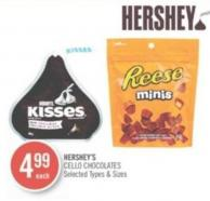 Hershey's Cello Chocolates