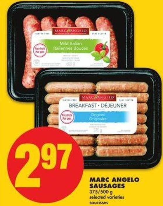 Marc Angelo Sausages - 375/500 G