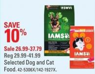 Iams Selected Dog and Cat Food