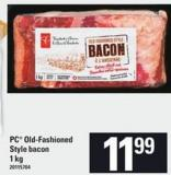 PC Old Fashioned Style Bacon - 1 Kg