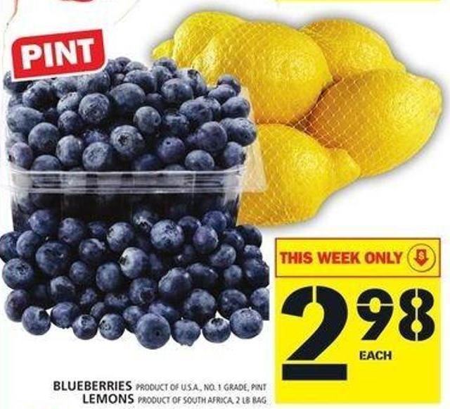 Blueberries Or Lemons