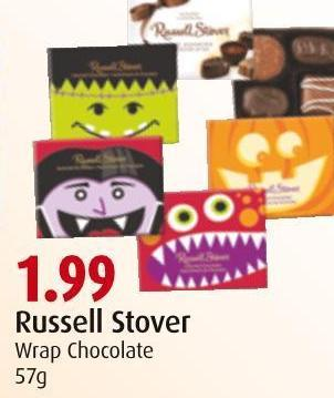 Russell Stover Wrap Chocolate 57g
