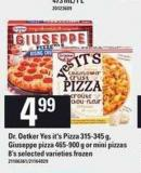 Dr. Oetker Yes It's Pizza - 315-345 g - Giuseppe Pizza - 465-900 g Or Mini Pizzas - 8's