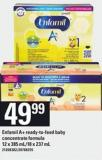 Enfamil A+ Ready-to-feed Baby Concentrate Formula - 12 X 385 Ml/18 X 237 Ml