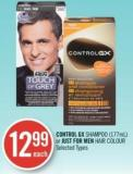 Control Gx Shampoo or Just For Men Hair Colour 177ml
