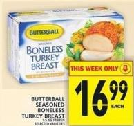 Butterball Seasoned Boneless Turkey Breast