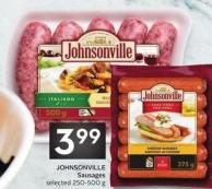 Johnsonville Sausages