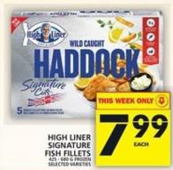 High Liner Signature Fish Fillets
