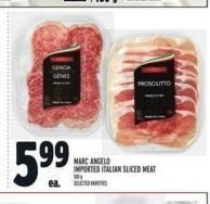 Marc Angelo Imported Italian Sliced Meat