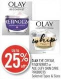 Olay Eye Cream - Regenerist or Age Defy Skin Care Products