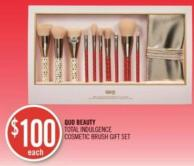 Quo Beauty Total Indulgence Cosmetic Brush Gift Set