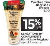 Sensations By Compliments Parmigiano Reggiano