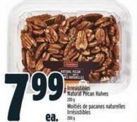 Irresistibles Natural Pecan Halves 200 g
