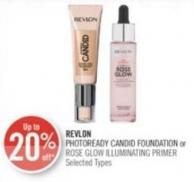 Revlon Photoready Candid Foundation or Rose Glow Illuminating Primer