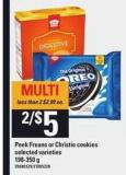 Peek Freans Or Christie Cookies - 198-350 G
