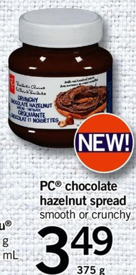 PC Chocolate Hazelnut Spread - 375 G