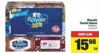 Royale Facial Tissue - 18x88 Ea.