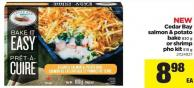 Cedar Bay Salmon & Potato Bake - 830 G Or Shrimp Pho Kit - 515 G