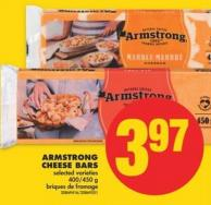Armstrong Cheese Bars - 400/450 g