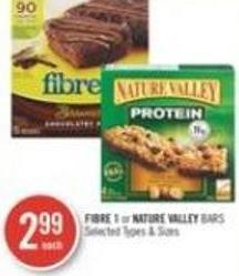 Fibre 1 or Nature Valley Bars