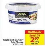 Your Fresh Market Feta Cheese