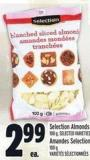Selection Almonds 100 g