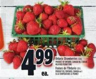 Ontario Strawberries 1.13 L