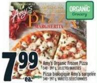 Amy's Organic Frozen Pizza 340 - 397 g