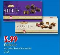 Delecto Assorted Boxed Chocolate 265g