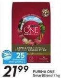 Purina One Smart Blend 7 Kg - 25 Air Miles Bonus Miles