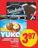 Chapman's Super Sandwich or Yukon Novelties - 5-20's