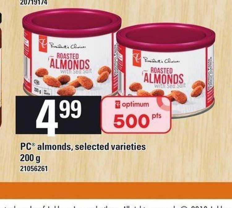 PC Almonds - 200 G