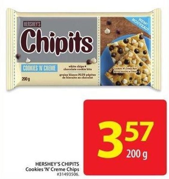 Hershey's Chipits Cookies 'N' Creme Chips