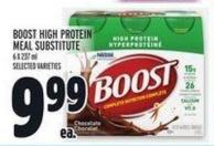 Boost High Protein Meal Substitute 6 X 237 ml