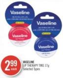 Vaseline Lip Therapy Tins 17g