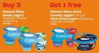 Danone Oikos Greek Yogurt - 4x95-100 g