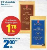 PC Chocolate Bars - 100 G