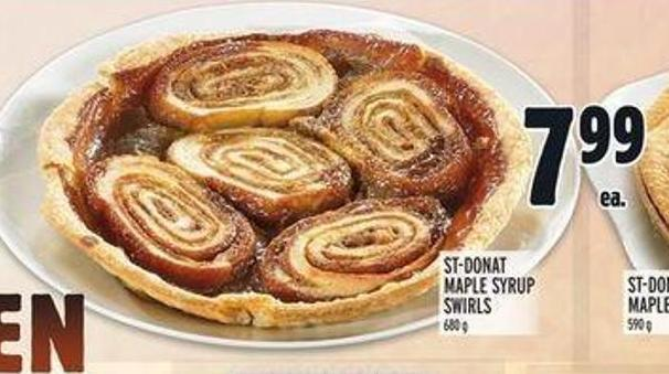 St-donat Maple Syrup Swirls